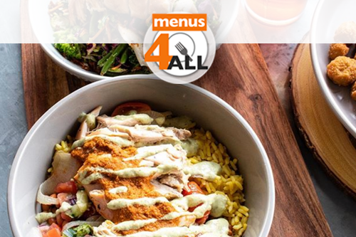 Durango Bowl is a salad with chicken, beans, rice. A homage to arroz con pollo from cowboy chicken.