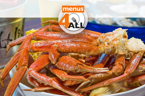 Crab Boil at the Salt Life Food Shack. Three clusters of snow crab served with corn, potatoes, onions and melted butter.