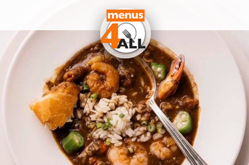 Arnaud's Restaurant's Gumbo, One of New Orleans' oldest and Creole restaurants. Located in the heart of the French Quarter.