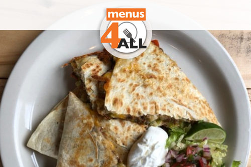 Southwest veggie and cheese quesadillas from Inspire Community Cafe in Memphis.